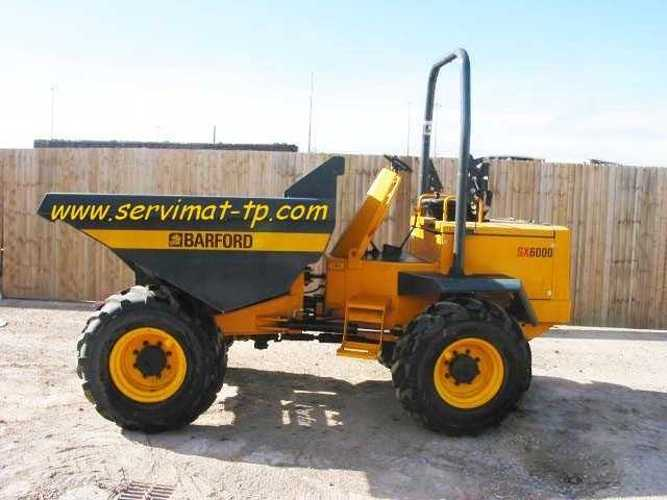 DUMPER BARFORD SX6000 VENDU 33000545sx6000-1-copie