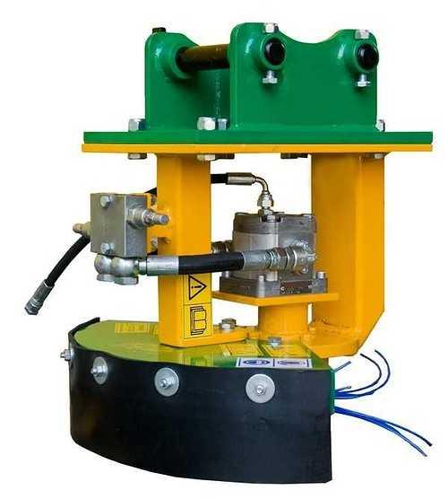 Coupe bordure hydraulique pour mini pelle st450
