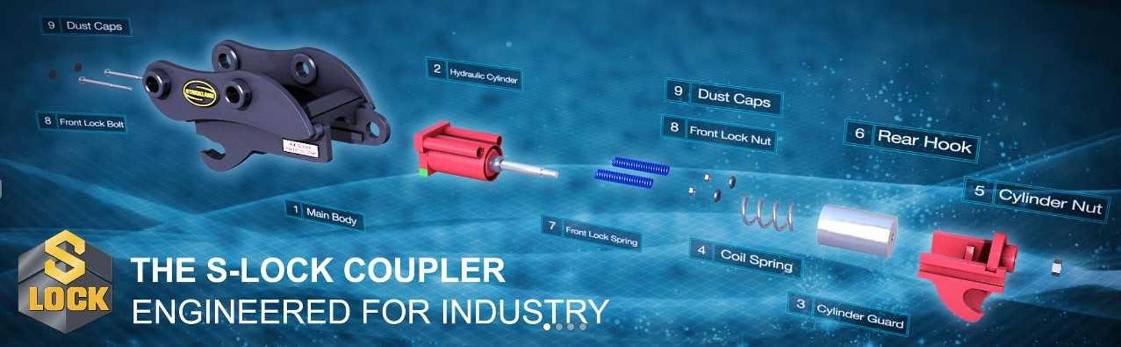 coupleur hydraulique S-LOCK slock1
